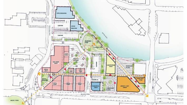The proposed new $44m library is one of eight key issues included in the council's LTP consultation document.