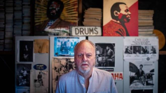 Frank Gibson Jr is one of the longest playing and best jazz drummers in New Zealand.