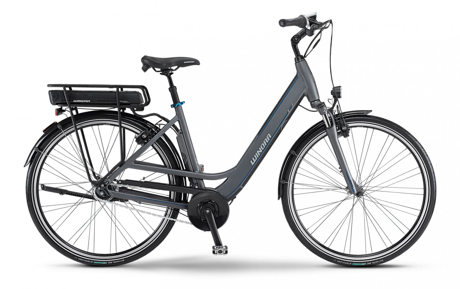 Winora E Bike X480 F Wave 28 Zoll Modular Pack 400