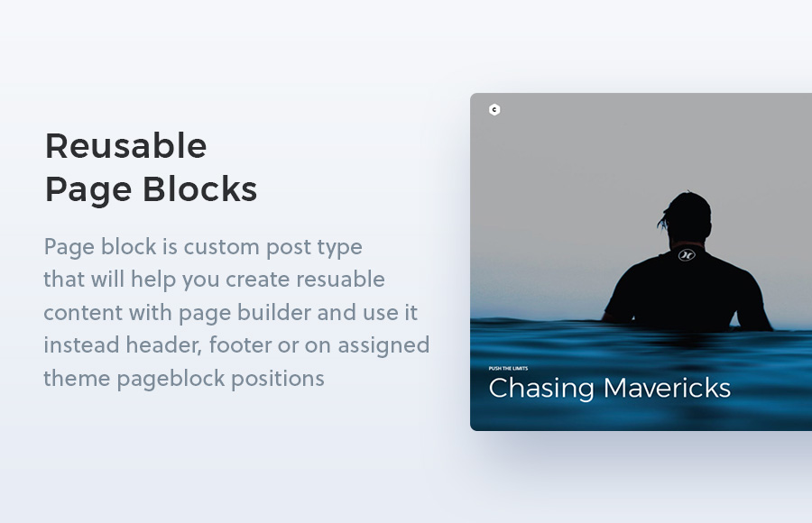 Creatus WordPress Theme Pages Extension