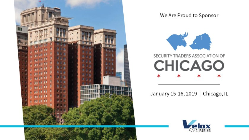 chicago city with velox clearing sponsors event sta chicago in january 2020