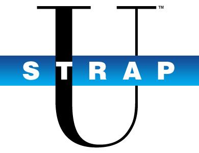 Strap U Logo Blue 390 x 300