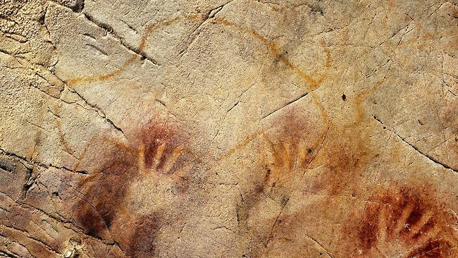 Neanderthal cave paintings Spain