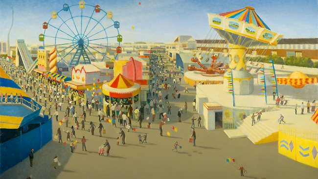 Robert Brownhall - Side Show Alley, The Ekka