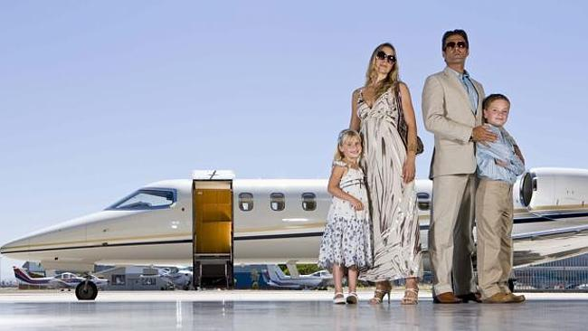 Australian families are among the most wealthy in the world according to one measure. Picture: Thinkstock.