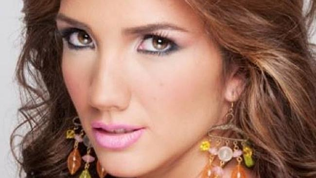 Shot in head ... Beauty queen Genesis Carmona is the latest casualty of the unrest in Ven