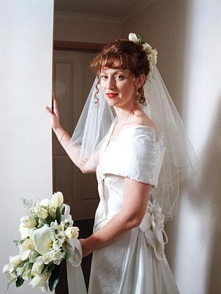 Anna Marie Kemp on her wedding day.