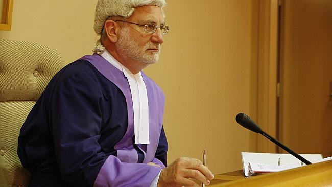 Adelaide District Court Judge Gordon Barrett.