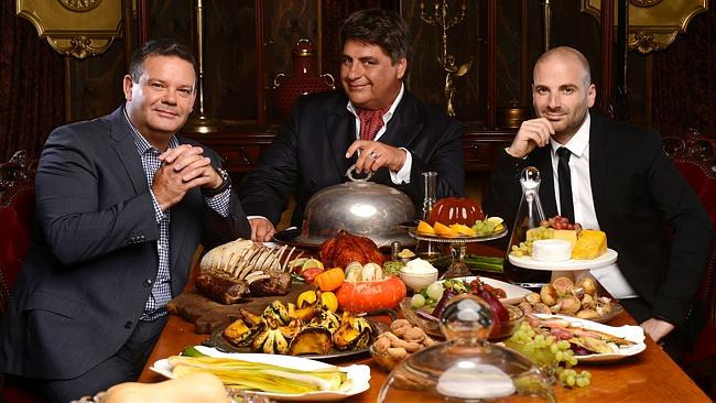 Calombaris is busy filming MasterChef season 6 with fellow judges Gary Mehigan and Matt P