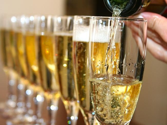 Susie Moore saved $85 by asking to borrow her friend's champagne glasses.