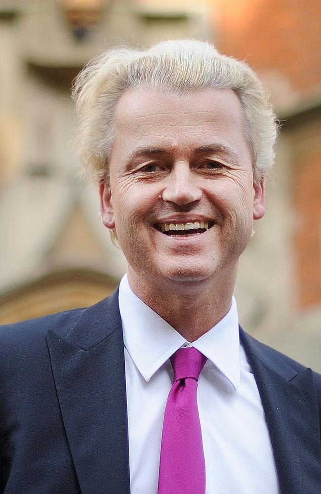 Dutch far-right lawmaker Geert Wilders. Picture: AFP