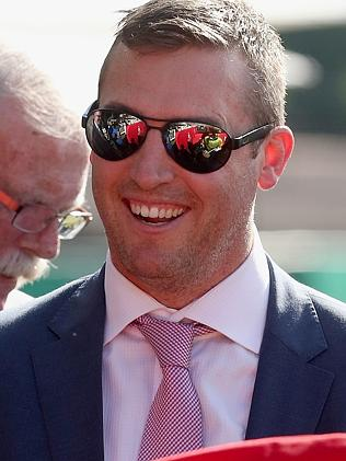 Brisbane trainer Tony Gollan. Picture: Jono Searle