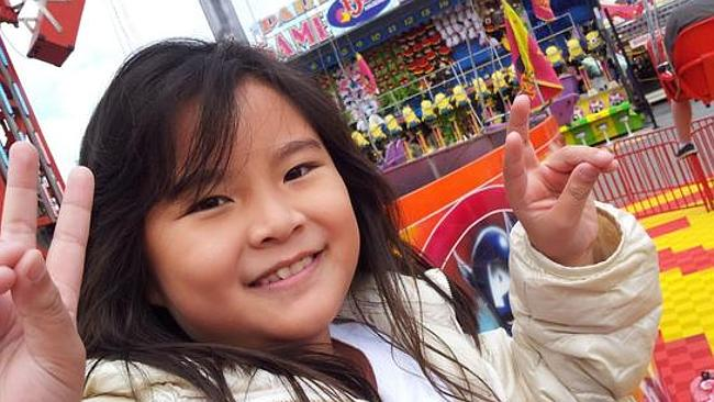Adelene Leong, 8, died after she was flung off the AirMaxx 360 ride at the Royal Adelaide