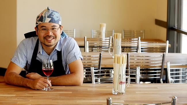 Taro Akimoto of Taro's Ramen & Cafe, Ascot. Picture: Mark Calleja