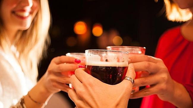 Not true ... it's a myth that you can't drink alcohol when you are on antibiotics, says P