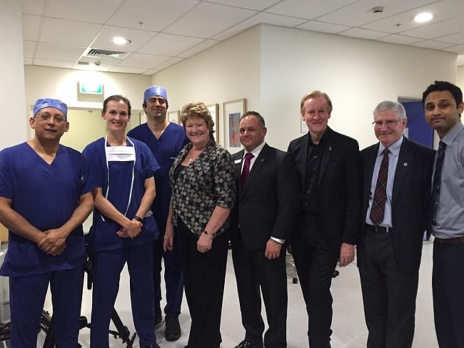 "The team of doctors involved in the world's first ""dead heart transplant"" at St Vincent's"