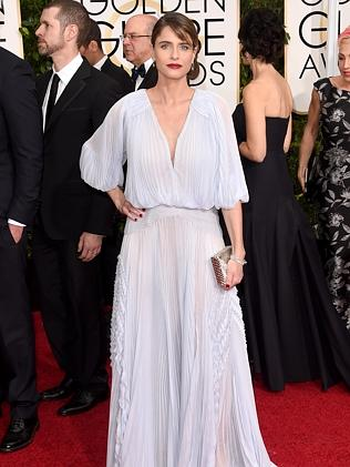 Amanda Peet attends the 72nd Annual Golden Globe Awards.