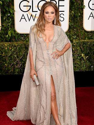 Jennifer Lopez attends the 72nd Annual Golden Globe Awards.