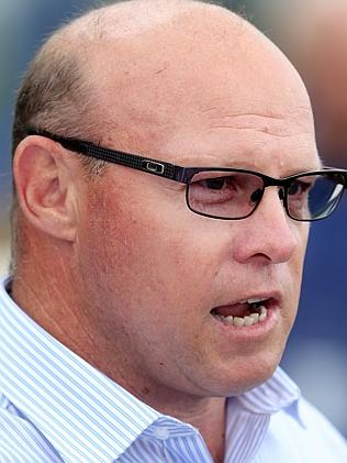 Liam Birchley hopes the Doomben track doesn't become a bog. Picture: Jono Searle.