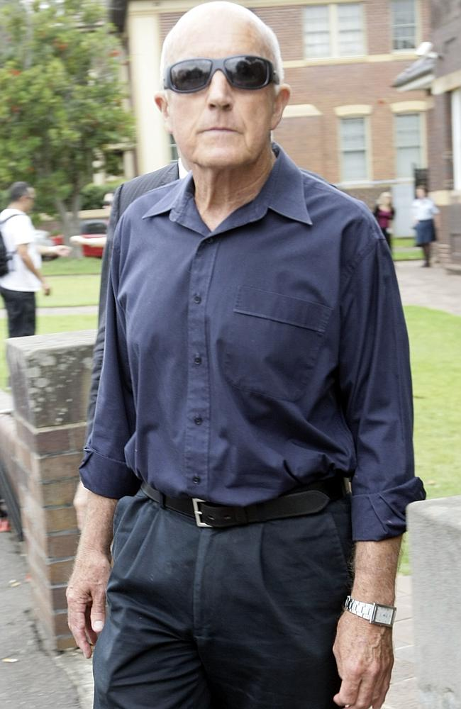 Former Knox teacher Barrie Stewart at the Hornsby local court.