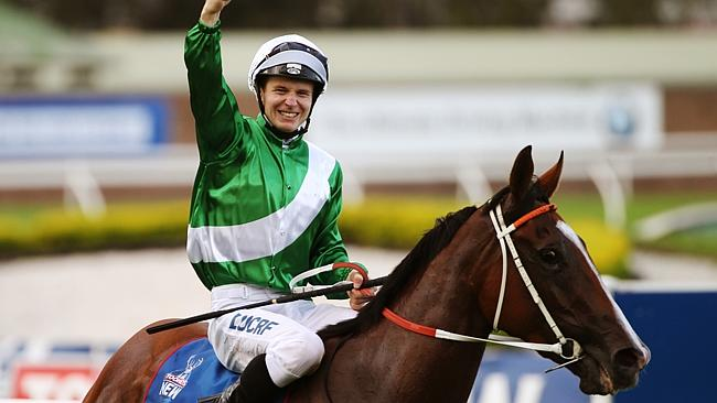 Mossfun won the Golden Slipper for Team Hawkes last year.