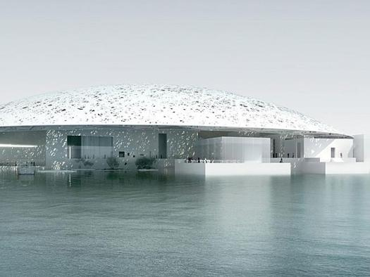 The soon to be completed Louvre will bring a touch of culture to Abu Dhabi.