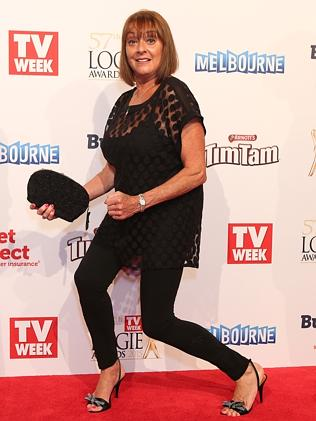 Denise Drysdale at the Logies
