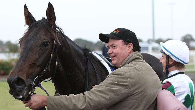Brendan McCarthy has 30 horses in his stables — some will head to the paddock, some to hi