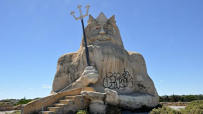 Atlantis Marine Park was supposed to boost Western Australia's tourism market. Picture: T