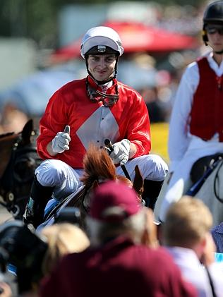Ric McMahon returns to scale after winning on the Gold Coast in January. Picture: Mike Ba