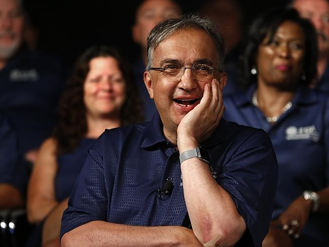 'Gave his blessings' ... Clyde Campbell says Sergio Marchionne permitted him to 'not be b