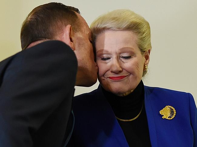 Tony Abbott and former Speaker Bronwyn Bishop are clearly still close, even after she was