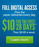 Full Digital Access - $10 for the first 28 Days