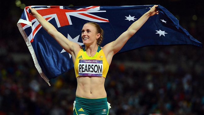 Sally Pearson (not the Pearson who wrote your Chemistry textbook!)