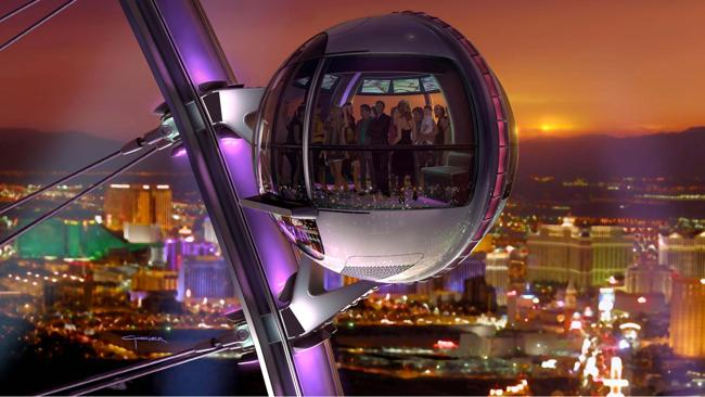 The High Roller. Picture: Las Vegas Convention and Visitors Authority