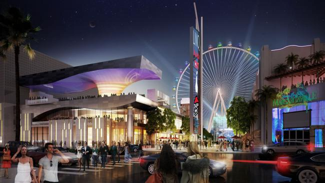 A design image of the ride. Picture Las Vegas Convention and Visitors Authority