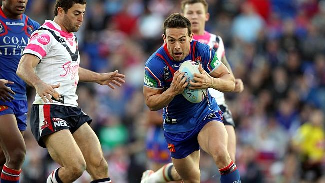The Newcastle Knights' Ryan Stig says he is