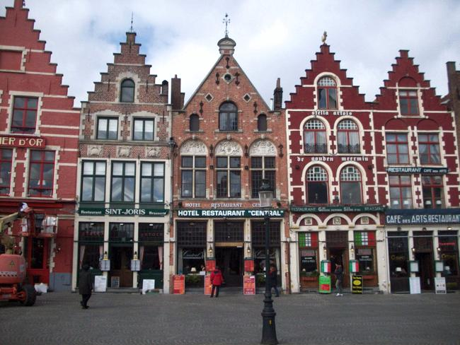 Bruges - Market Square shops. Picture: Supplied