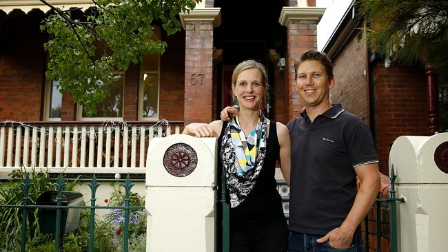 Will Watts and Hannah Price opted to fix their mortgage rate after stretching their budget / Picture: Bradley Hunter
