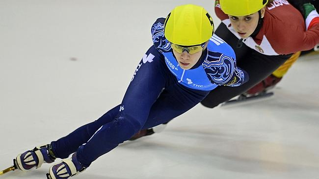 Tatiana Borodulina competes for Russia ahead of the Sochi Games.