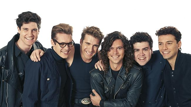 The cast of INXS: Never Tear Us Apart