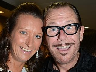 Layne Beachley and Kirk Pengilly. Picture: Regina King