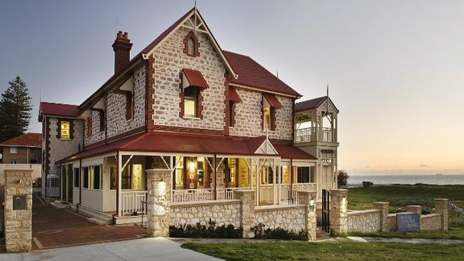 The beach-front property is located on the corner of Marine Parade and Rosendo Street, Co