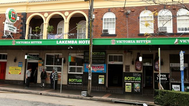 The Lakemba Hotel in Haldon St, Lakemba / Picture: Adam Taylor