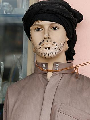 A store dummy crudely 'Islamified' / Picture: Adam Taylor
