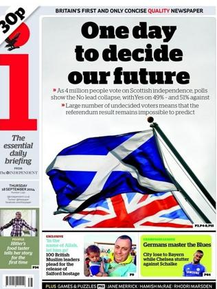The i says this one day will decide the future.