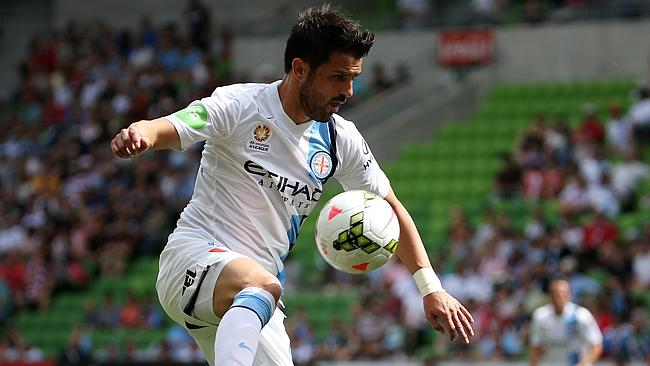 Melbourne City's David Villa was again the hero with a late goal against Newcastle.