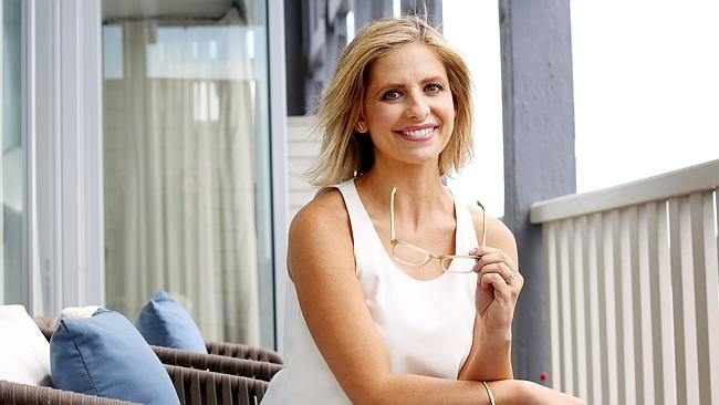 Sarah Michelle Gellar is out and proud with her glasses.