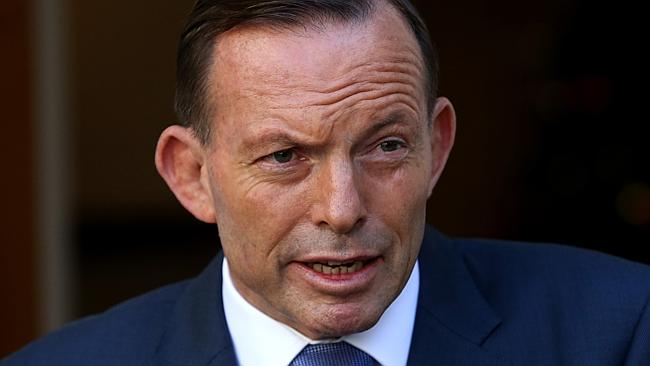 Tony Abbott has ended the parliamentary year with an intriguing press conference.