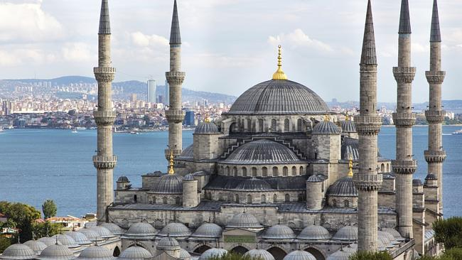 Istanbul's Blue Mosque ... Turkey's most famous landmark is also a sign of its dominant f